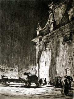 Rainy Night in Rome.