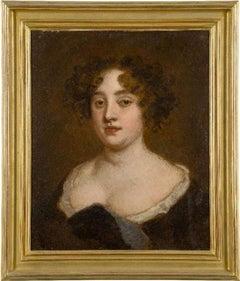 Studio Of Sir Peter Lely - Portrait Of Lady Francklin Of Bedfordshire