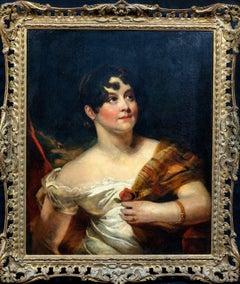 Portrait Of A Lady, 19th Century