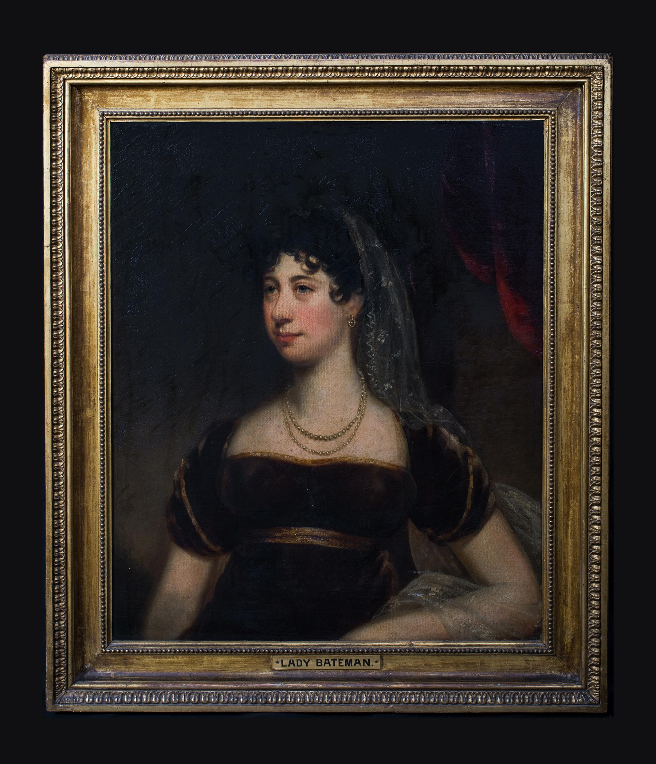 Portrait of Lady Bateman, 19th Century