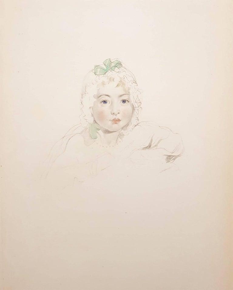 Thomas Lawrence Portrait Print - Mary Isabella Bloxum