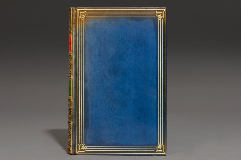 1 Volume. Sir Thomas Malory. LeMorte D'Arthur. Illustrated with color plates by Russell Flint. Bound In Full