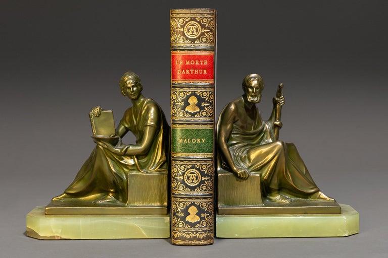 Early 20th Century Sir Thomas Malory, LeMorte D'Arthur For Sale
