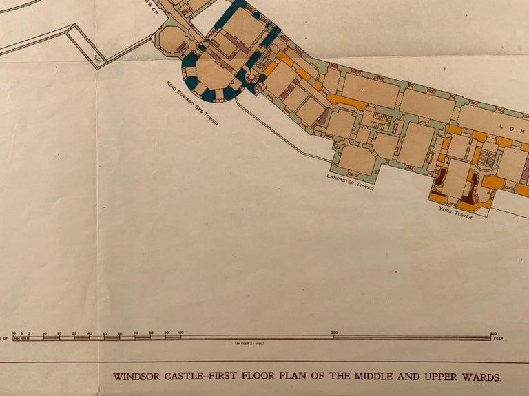 Windsor Castle - Print by Sir W. H. St John Hope