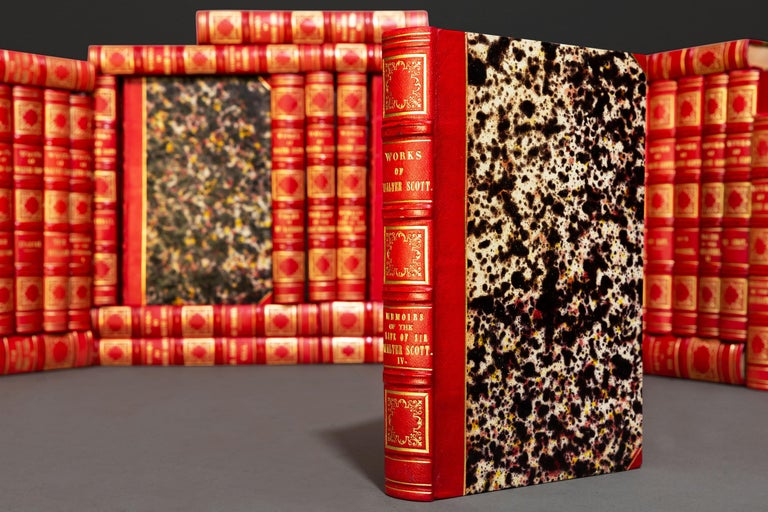 Sir Walter Scott, Waverley Novels In Good Condition For Sale In New York, NY