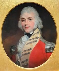 Portrait of a British Officer in a Scarlet Uniform c.1805