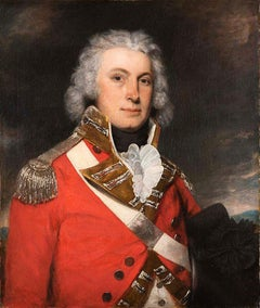 Portrait of an officer of the 67th Foot (South Hampshire) Regiment