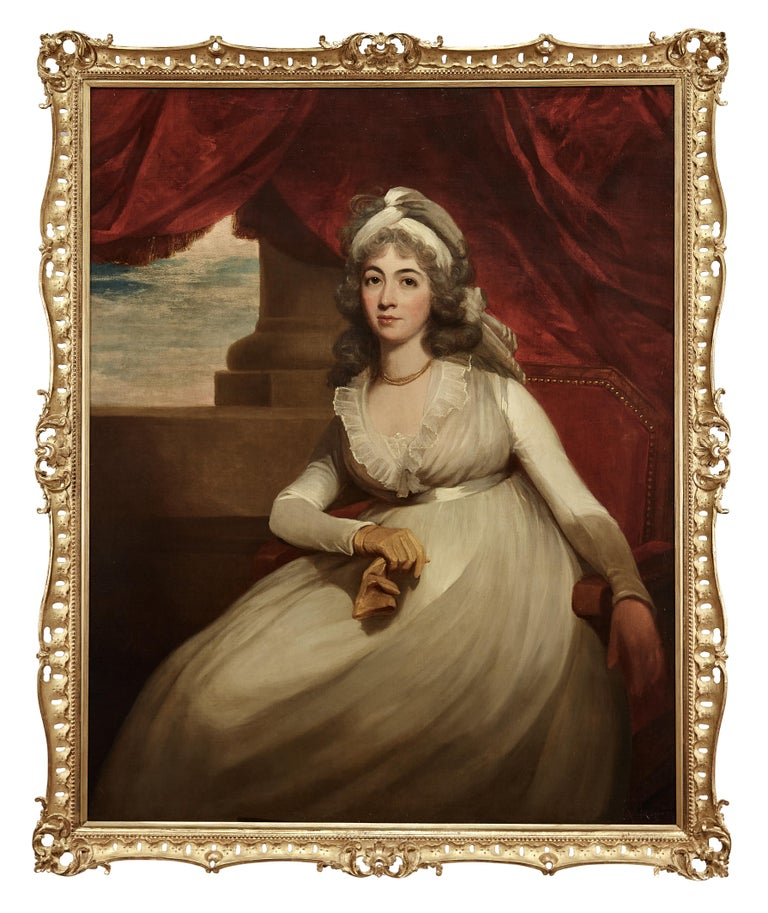 Portrait of Anne, Duchess of Cumberland and Strathearn - Painting by Sir William Beechey