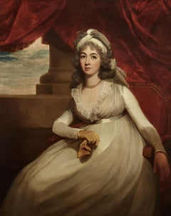 18th century English Portrait Painting of Anne, Duchess of Cumberland