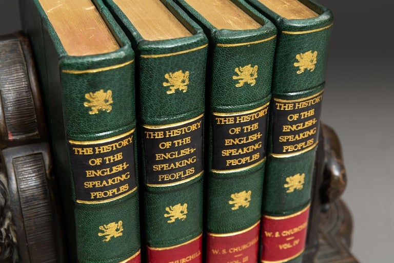 Sir Winston S. Churchill, History of The English Speaking Peoples In Good Condition For Sale In New York, NY