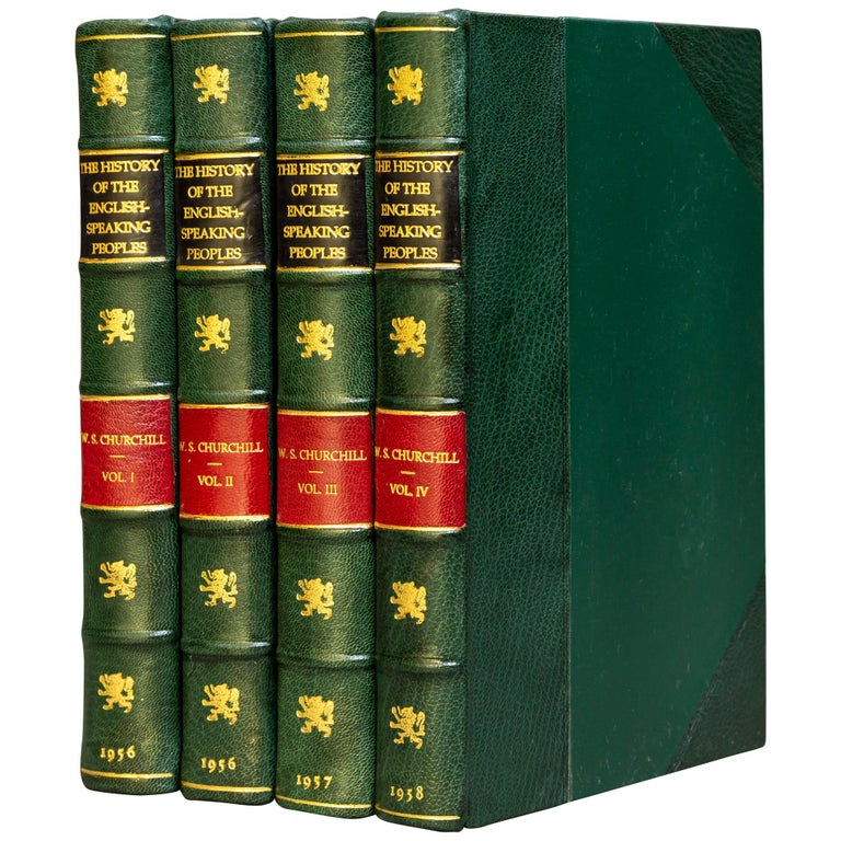 Sir Winston S. Churchill, History of The English Speaking Peoples For Sale