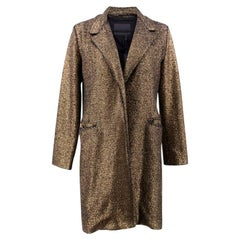 Siran Olivia Bronze Coat  - Size US 2