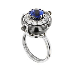 Sirius Ring Sapphire by Elie Top