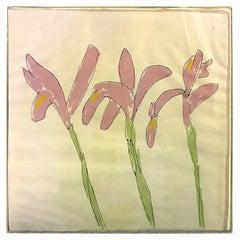 Sister Mary Corita Kent Limited Edition Signed Rare Silkscreen Flower Print