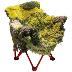 'Sit in my valley' Lounge Chair by Lionel Jadot