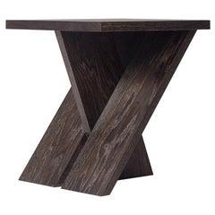 Sitio Side Table in Ebonized Oak