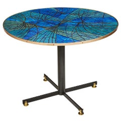 Turquoise and Blue Siva Poggibonsi Dining Table