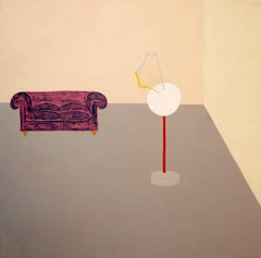 """""""Sculpture I never made 2"""" - interior painting"""
