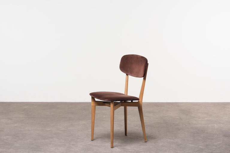 Mid-Century Modern Six 691 Chairs by Ico Parisi For Sale