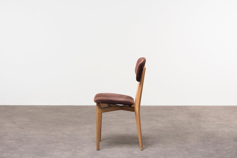Italian Six 691 Chairs by Ico Parisi For Sale
