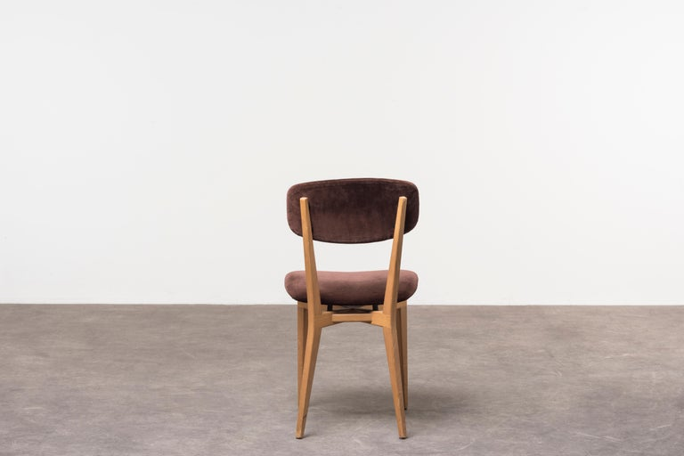 Six 691 Chairs by Ico Parisi In Good Condition For Sale In Milan, IT