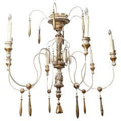 Six-Arm Italian Chandelier