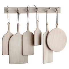 Six Ashwood Boards with Wall Hanger Set