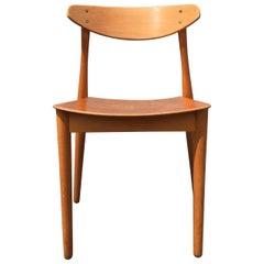Six Beautiful Danish Dining Chairs