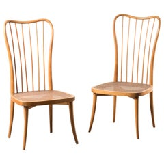 Six Chairs by Joaquim Tenreiro