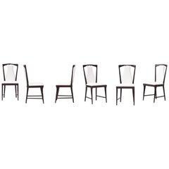 Six Chairs by Osvaldo Borsani