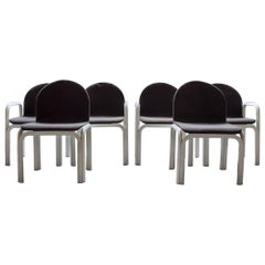 Six Chairs Orsay by Gae Aulenti for Knoll, 1970s