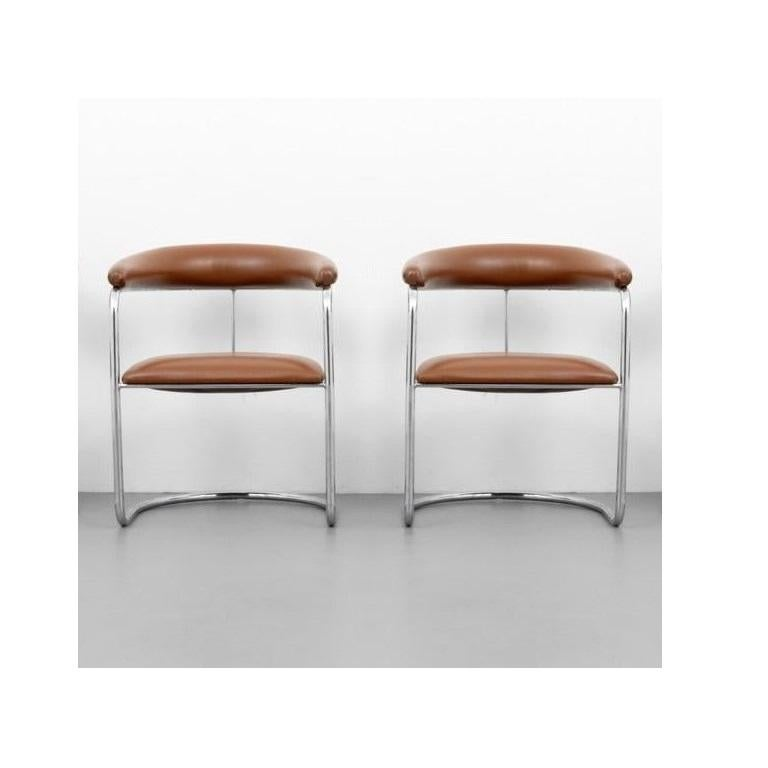 Mid-Century Modern Six Classic Anton Lorenz for Thonet Dining Chairs For Sale