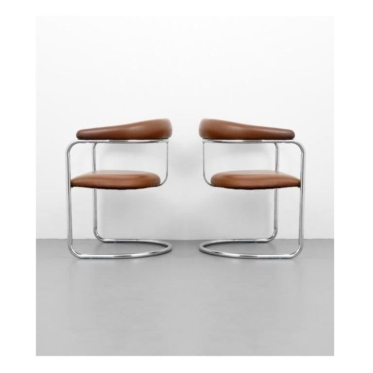 American Six Classic Anton Lorenz for Thonet Dining Chairs For Sale