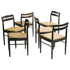 Six Danish Dining Chairs by H.W. Klein for Bramin Møbler