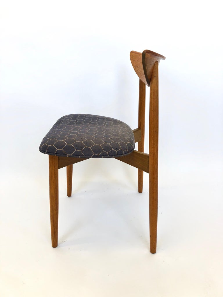 Six Dining Chairs by Harry Ostergaard for Randers Mobelfabrik, Denmark, 1960s For Sale 8