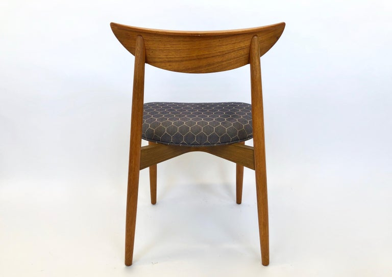 Six Dining Chairs by Harry Ostergaard for Randers Mobelfabrik, Denmark, 1960s For Sale 9