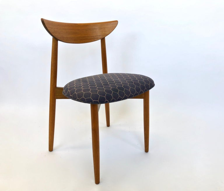 Six Dining Chairs by Harry Ostergaard for Randers Mobelfabrik, Denmark, 1960s For Sale 10