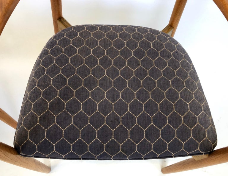 Teak Six Dining Chairs by Harry Ostergaard for Randers Mobelfabrik, Denmark, 1960s For Sale