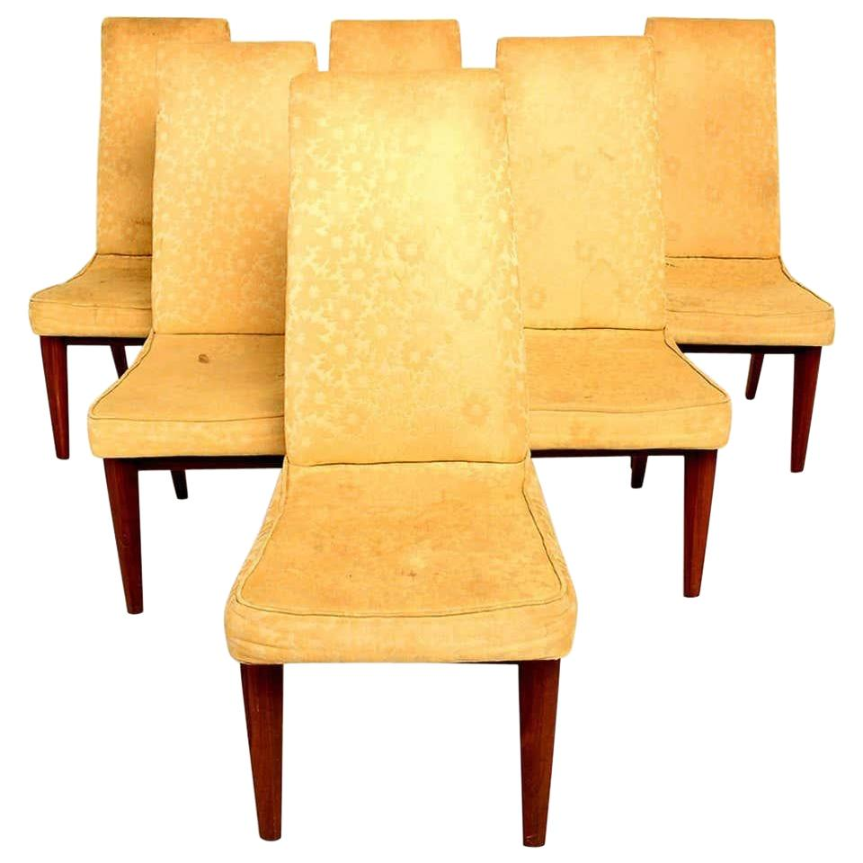 Six Dining Chairs by Maurice Bailey for Monteverdi & Young Classic Midcentury