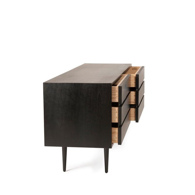 American Six Drawer Dresser by Mel Smilow For Sale