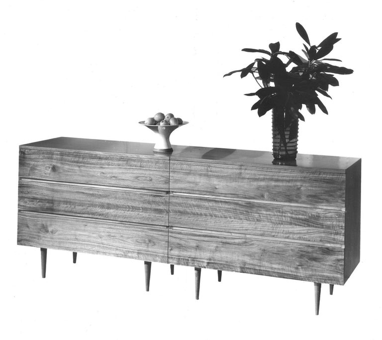 Six Drawer Dresser by Mel Smilow In New Condition For Sale In New York, NY
