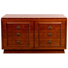 Six-Drawer James Mont Style Dresser