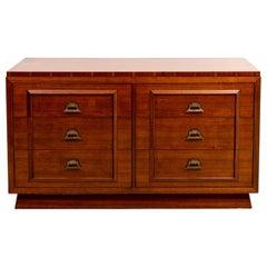 Six-Drawer James Mont Style Dresser