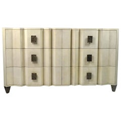 Six Drawers Shagreen Dresser Accordeon by Ginger Brown
