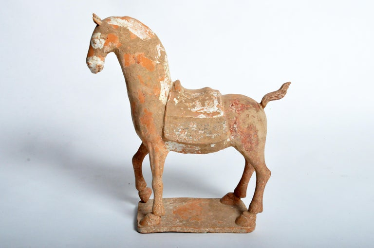Chinese Six Dynasties Period Figure of a Horse For Sale