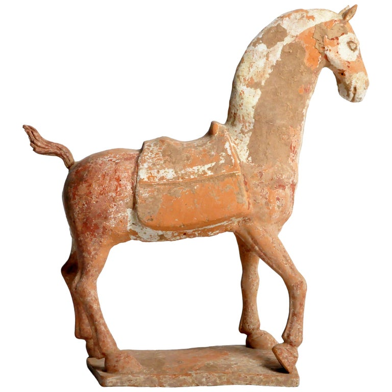 Six Dynasties Period Figure of a Horse For Sale
