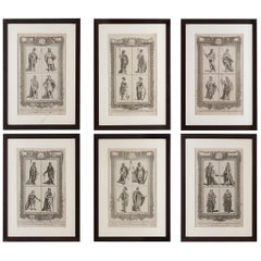 Six Engravings 18th Century by Grignion