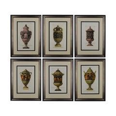 Six Engravings of Ancient Greek Vases by Carlo Antonio