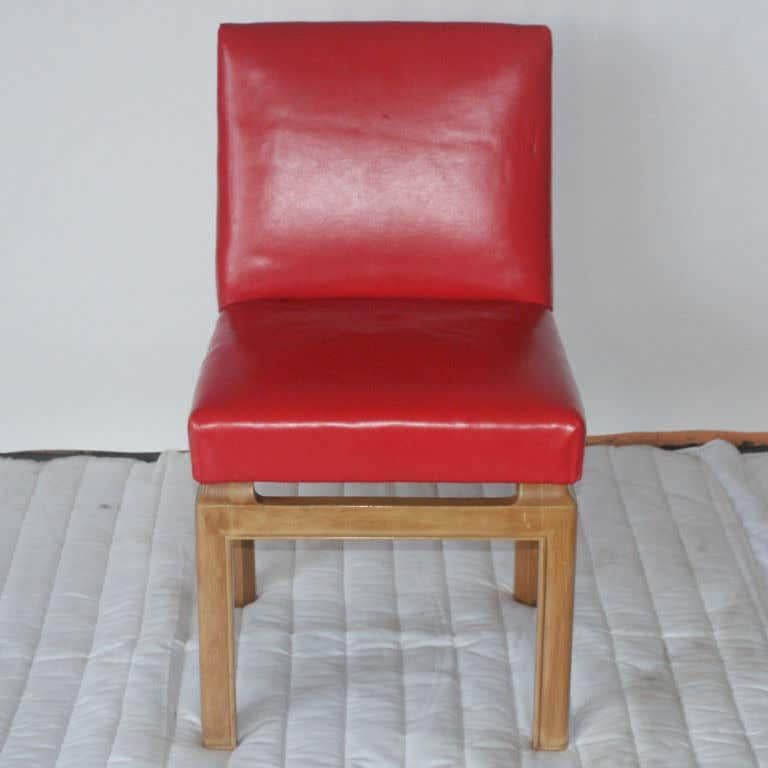American Six Far East Dining Chairs by Michael Taylor for Baker For Sale