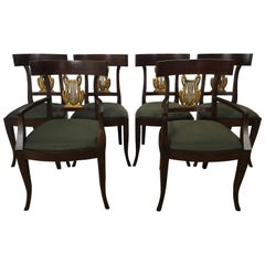 Six French Neoclassic Dining Chairs